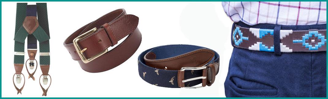 Belts, Braces & Cufflinks