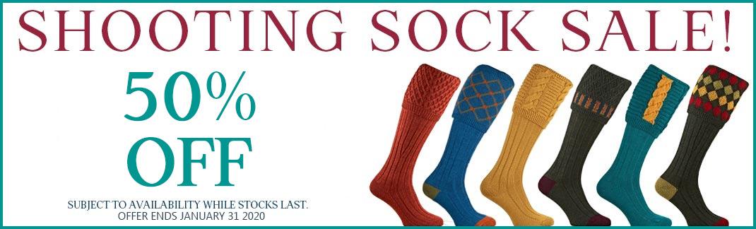 Shooting Socks & Garters