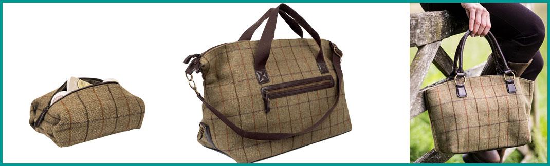 Tweed Luggage