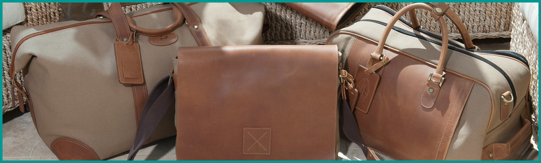 Leather & Canvas Travel Bags