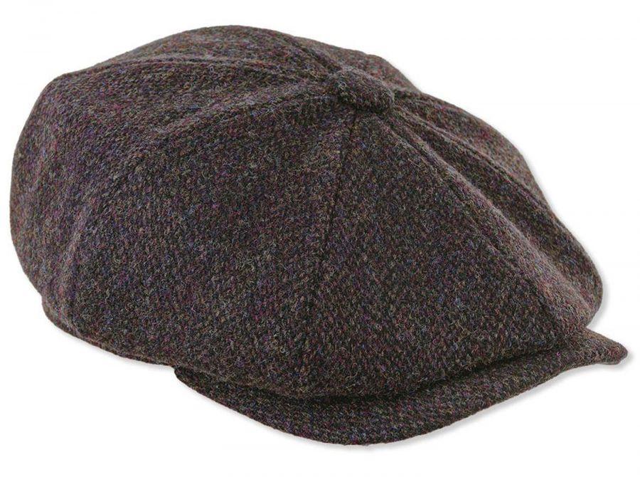 Newsboy Harris Tweed Cap - Clothing Accessories - Mens  14b5d4018e4