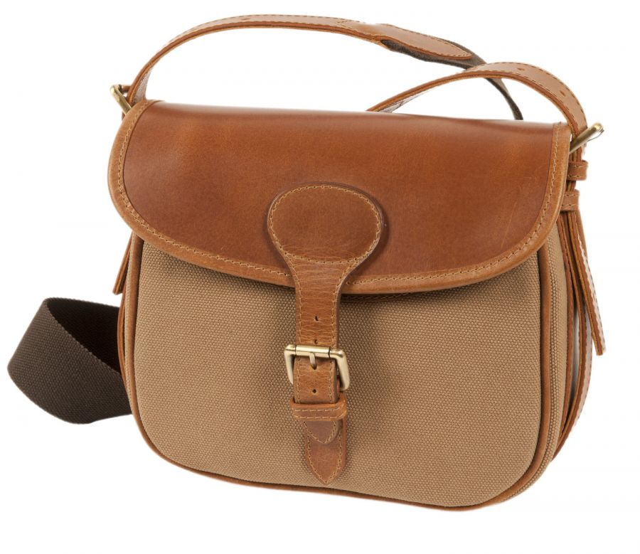 Windsor Leather and Canvas Cartridge Bag - Cartridge Bags   Boxes - Gun  Room - Shooting