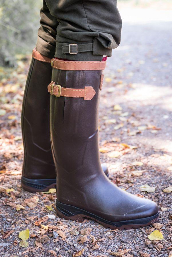 chaussures de séparation 908d8 c52f3 Aigle Parcours 2 Signature Leather Wellingtons