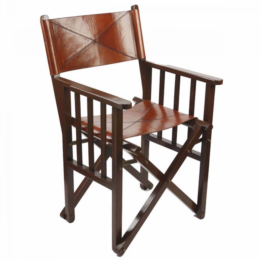Charmant Leather Directoru0027s Chair