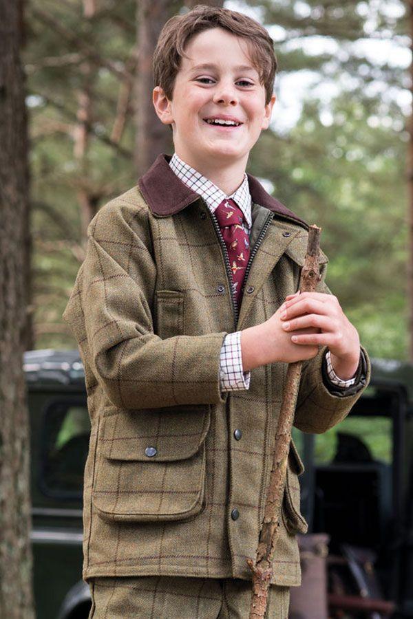 57234ecbf Kids Rutland Tweed Shooting Jackets | Children's FFF | Fur Feather and Fin