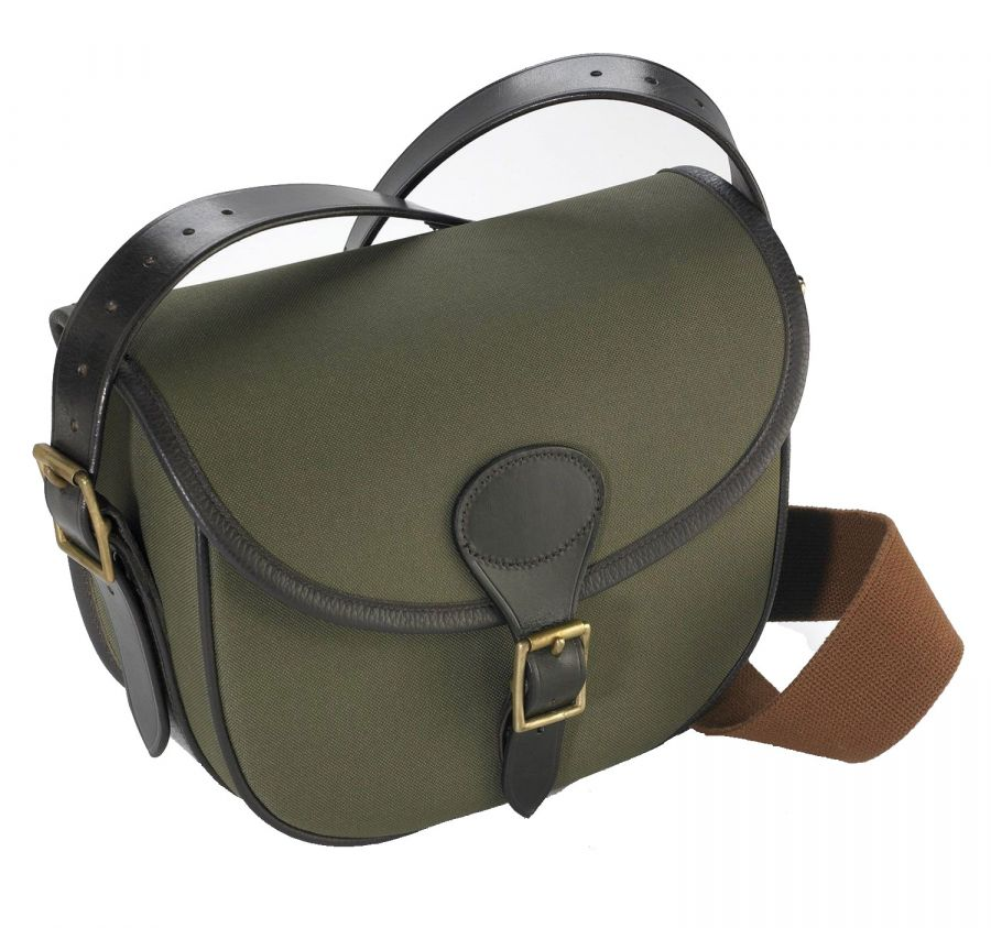 Highland Canvas and Leather Cartridge Bag - Cartridge Bags   Boxes - Gun  Room - Shooting