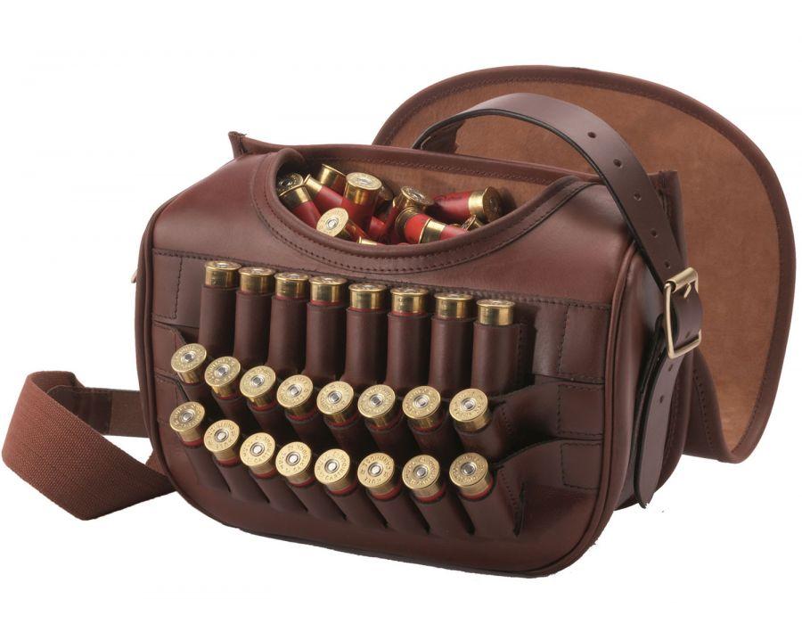 Leather Loader Bag - Cartridge bag for over 200 cartridges