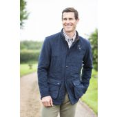 Alan Paine Gents Felwell Quilted Jacket Navy