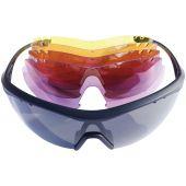 SR-Ricochet Shooting Glasses with 5 Lens