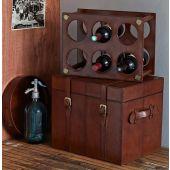 Leather Wine Rack/Trunk