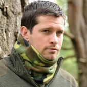 Fleece Neckwarmer Snoods - Camo