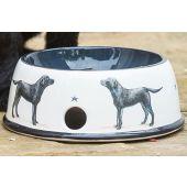 Labrador Pottery Dog Bowl