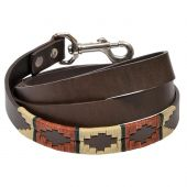 Argentine Leather Dog Lead - Rustic