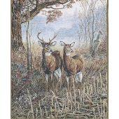 Woodland Deer Wall Tapestry