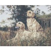 Golden Retrievers Wall Tapestry