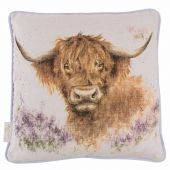 Country Cushion Highland Heather