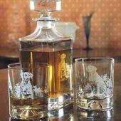 Labrador Engraved Glass