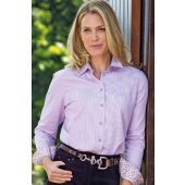 Ladies Pinstriped Shirt