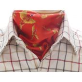 Silk Cravat - Red
