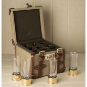Position Finder Shot Glasses in Carry Case