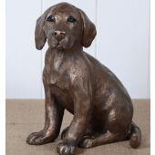 Labrador Puppy Statue