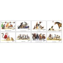 Alex Underdown Xmas Cards Pack of 8