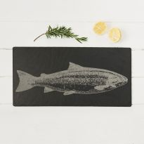 Unique Salmon Slate Table Runner