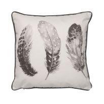 Feather Cushions Grey
