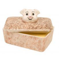 Piggy Pate/Butter Dish