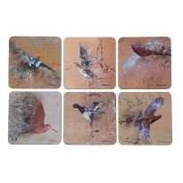Game Birds Coasters set of 6