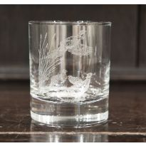 Engraved Glasses Pheasant