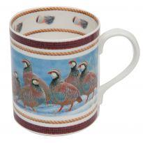 Country China Mug Partridge