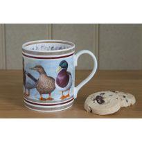 Country China Mug Ducks