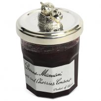 Silver Plated Fruit Jam Jar Lids - Mixed Fruit