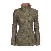 Dubarry Bracken Tweed Utility Jacket Heath