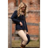 Felwell Ladies Quilted Jacket Navy