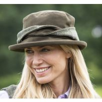 Albany Tweed Twist Hat