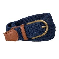 Baleno Stretch Corded Belt Navy
