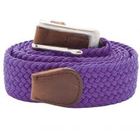 Stretch Corded Belts - Purple