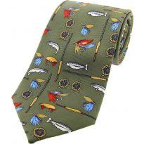 Silk Tie Fishing Tackle