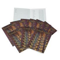 Shoot Game Cards - Pheasant Tail Feathers