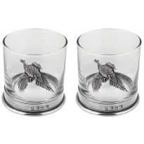 Pheasant Hi Ball Glass Set