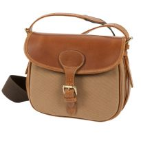 Windsor Leather and Canvas Cartridge Bag