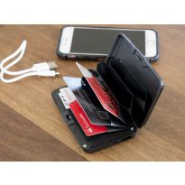 RFID Card Wallet with Power Bank