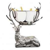 Resting Stag Large Punch Bowl