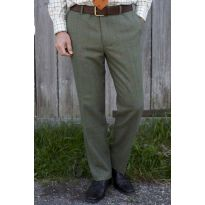 Alan Paine Compton Tweed Trousers - Lovat