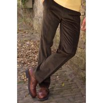 Midweight Pure Cotton Cords - Olive
