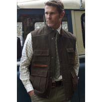 The Hunter Nubuck Leather Gilet