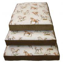 Country Print Dog Cushion