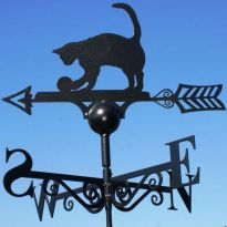 Weathervane Cat and Ball